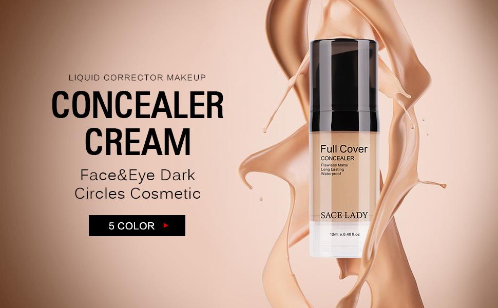 cream concealer long lasting waterproof full coverage