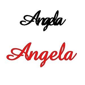 名字 angela