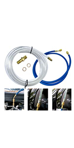 Fuel Filter Air Bleeder Service Kit Compatible with Ford 6.4L F250,F350,F450,F550
