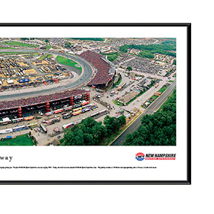 New Hampshire Motor Speedway with standard frame