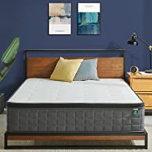 Zinus iCoil Cool Gel Pocket Spring InnerSpring mattress Cheap Online Australia