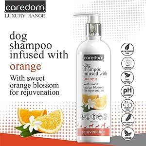 Caredom Luxury Sweet Orange Blossom Shampoo