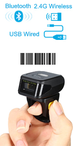1D RING BARCODE SCANNER