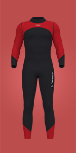 Hevto Coral · Ⅰ Men Wetsuit · Red