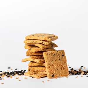 everything cracker keto low carb gluten free snack