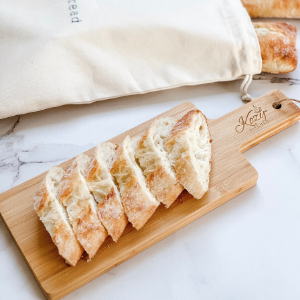 Bamboo Cutting Board cheese board serving platter tray board charcuterie