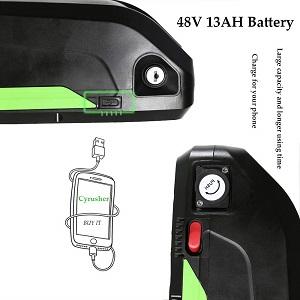batterie 48V 13A