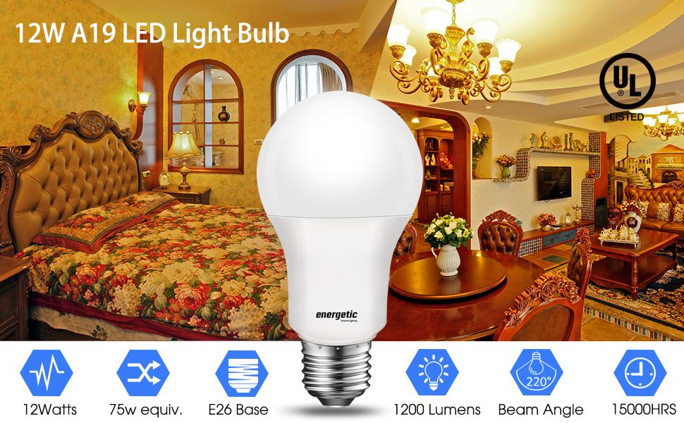 soft white 2700K LED light bulb