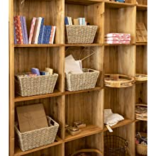 woven baskets for organizing