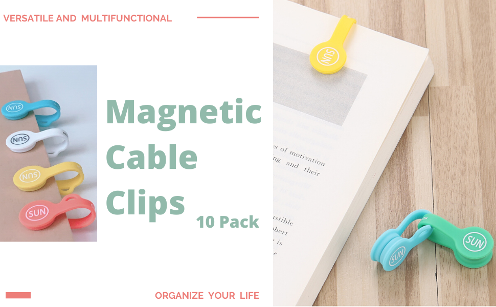 magnetic cable organizers