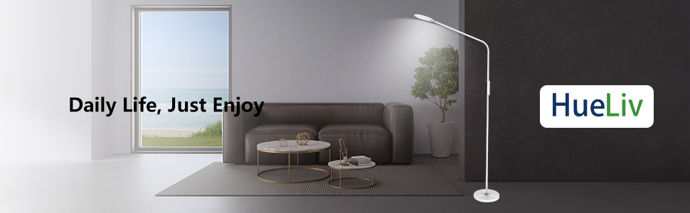 LED floor lamp for bedroom