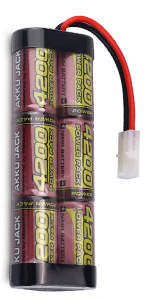 7.2 rc battery