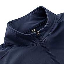 ipper pocket Outdoors Fitness Golf active regular sportswear moisture wicking fishing golf gym long