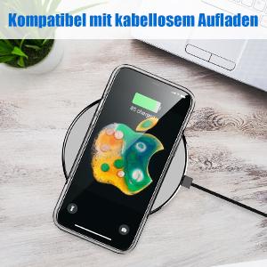 Cafele Ultra Dünn Hülle Kompatibel Mit 12 Kristall Elektronik