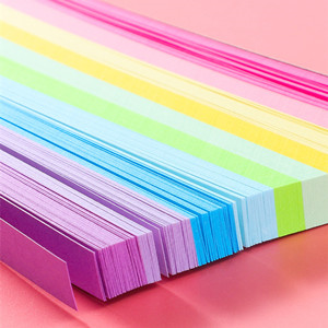 Jiasitemeijia Stars Paper Strips Colorful DIY Handcraft Paper Strips for Decoration DIY Projects,27 Colors 1030 Sheets