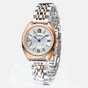 Women's Watch Stainless Steel Dress Quartz Watch Casual Mesh Bracelet Waterproof Wrist Watch