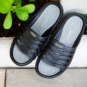 Vertico - Shower Sandals | Slide-On