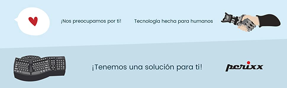 Perixx Periboard-407 Mini Teclado Usb (Español) - Teclas Tipo Chiclet - Color Negro Piano