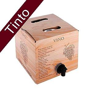 Bag in Box 5L Vino Tinto Joven Bodega Los Corzos: Amazon.es: Alimentación y bebidas