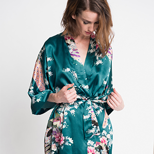 SALE!-15/%!!!Beach Robe Kimono Robe Swim Wear Robe Night Wear Art Silk Robe Silk Kimono Robe Gown Indian Saree Kimono #K600