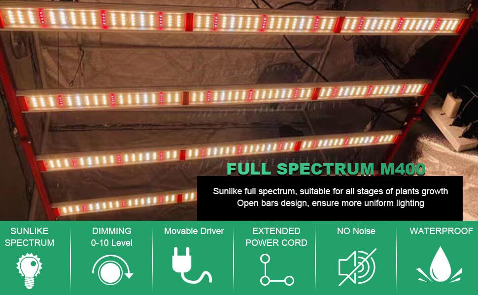 foldable led grow light