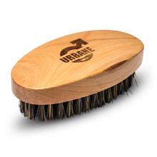 urbane men wild boar bristle beard brush natural pear wood