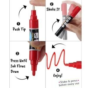 How To Activate Your Liquid Chalk Markers