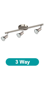 Unicozin LED 3 Light Track Lighting Kit
