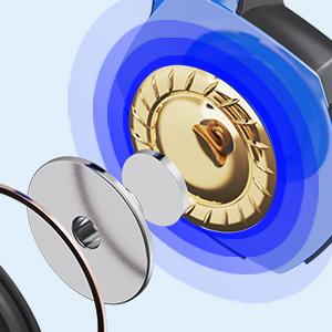 50mm neodymium magnetic drivers