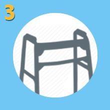 Upwalker, UPWalker upright walker, walker, walk upright, stability, maintain balance, balance
