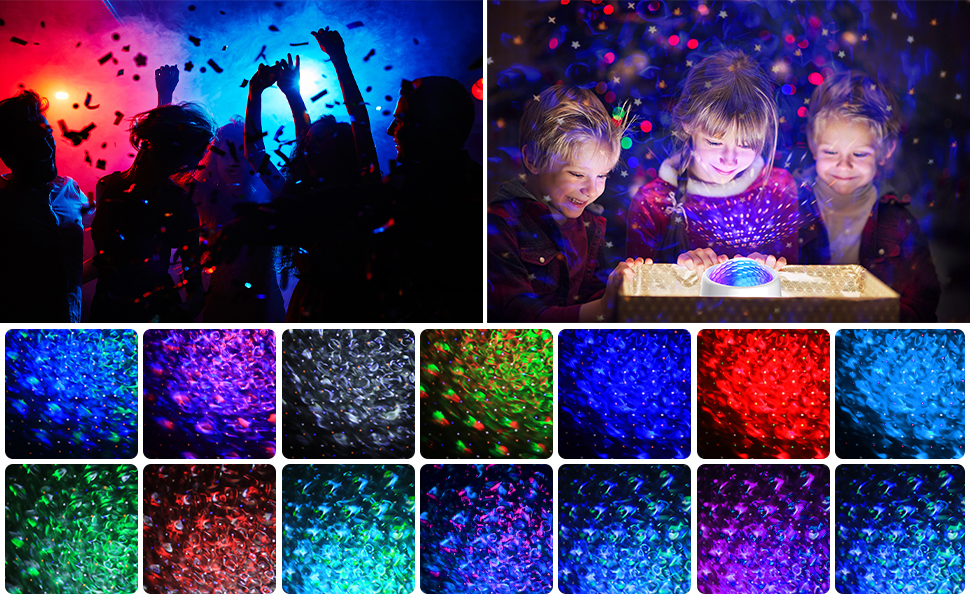 multi lighting modes - night light