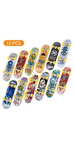 Rampen 11 St/ück Park Lisanl Mini-Finger-Skateboard-Set f/ür Skateboard Teile f/ür Tech-Deck Griffbrett