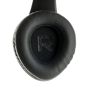 headphones with soft earmuffs premium leather earpads super comfortable for long hours of use