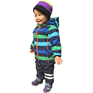 A jacket kids can wear in any weather!