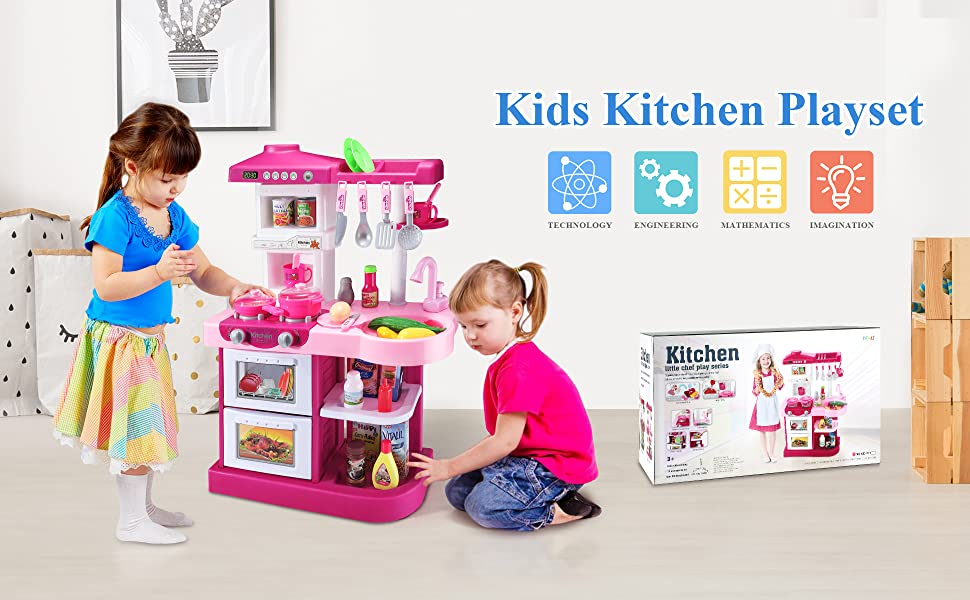 Play Food for kids kitchen under 20