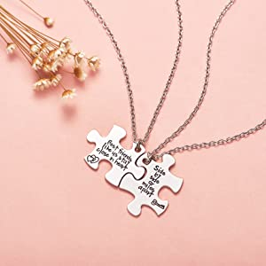 BFF NECKLACE FOR 2