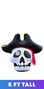 pirate hat skull