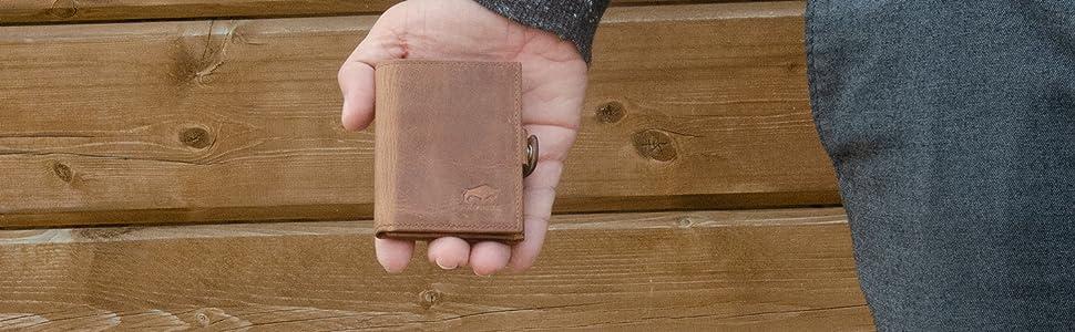 Kartenetui Kreditkartenetui Mini Börse Slim Wallet Geldbörse