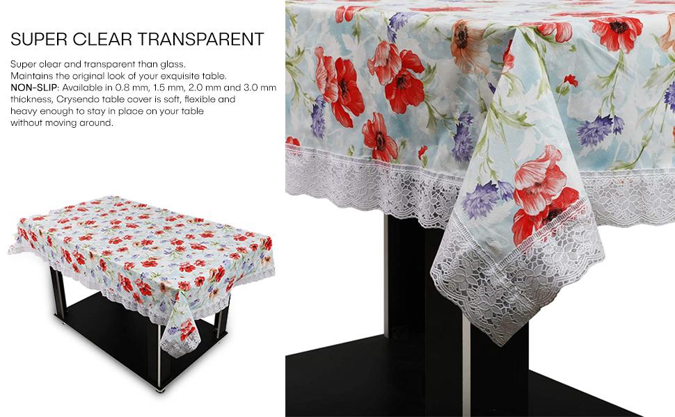OrientalWeavers Decojewels PVC Center Table