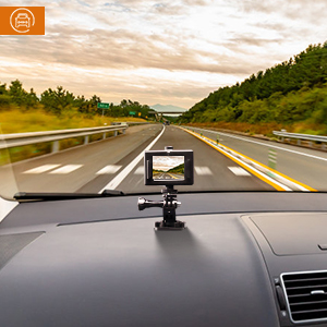 Dash action cam