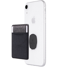 removable phone card holder for back of phone wallet stick on Iphone card holder wallet