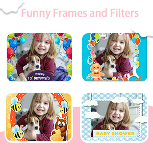 Funny Frames and Lens