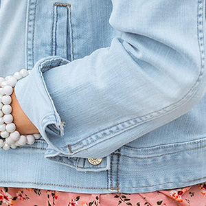 luvamia basic button down denim jean jacket