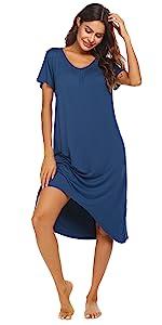 Women Long Nightgown