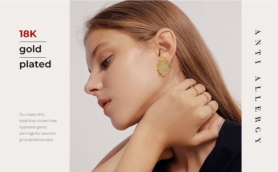 statement earrings women