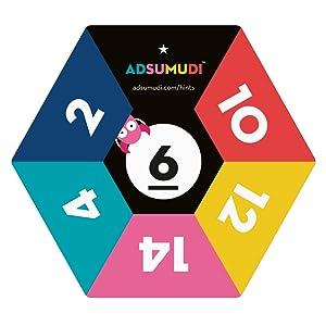 Adsumudi Card - 1 Star
