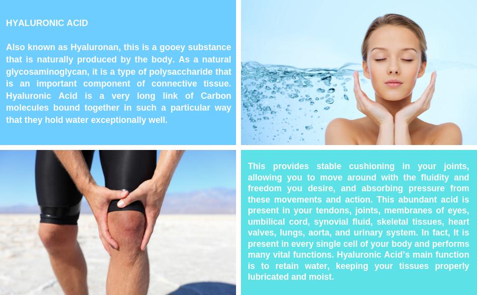 Hyaluronic Acid Vimerson Health Supplement Man Woman Joints Skin