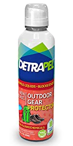 outdoor gear, fabric protector, water resistant, block stains, safe, camping, outside, PFAS-free