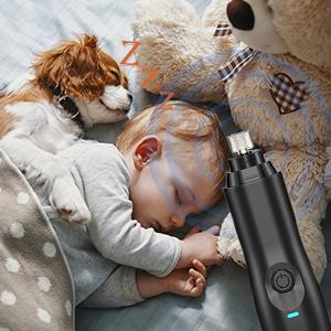 low noise dog nail grinder