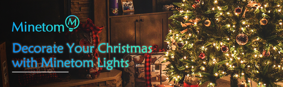 decorating your christmas with minetom lights